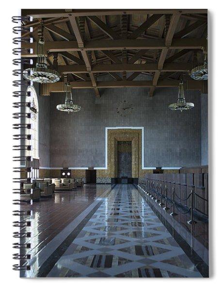 Los Angeles Union Station Original Ticket Lobby Spiral Notebook