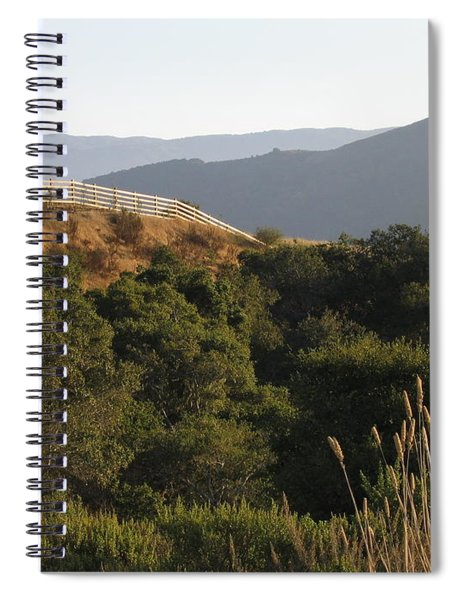 Los Laureles Ridgeline Spiral Notebook