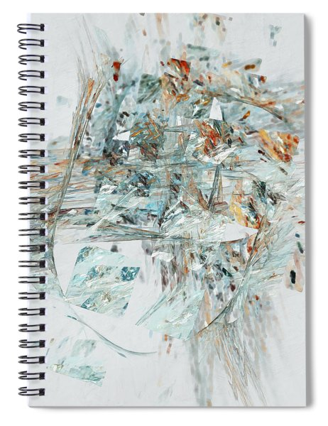 Losing My Reality Spiral Notebook by Menega Sabidussi