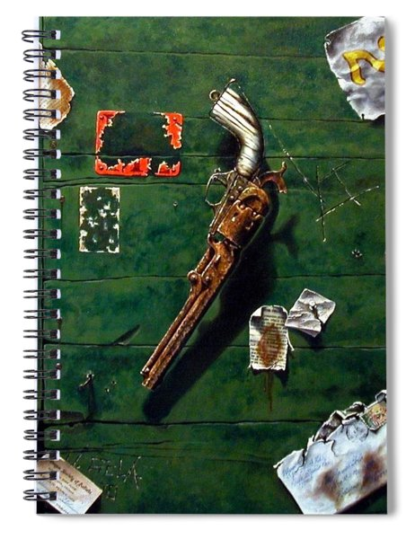 Lost And Found  Spiral Notebook
