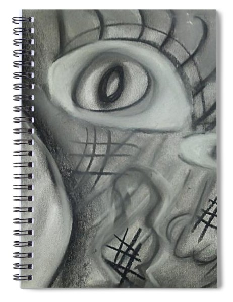 Lost In Chaos Spiral Notebook