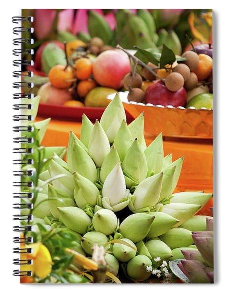 Lotus Buds 02 Spiral Notebook