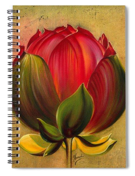 Lotus Bulb Spiral Notebook