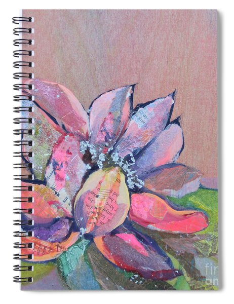 Lotus Iv Spiral Notebook by Shadia Derbyshire