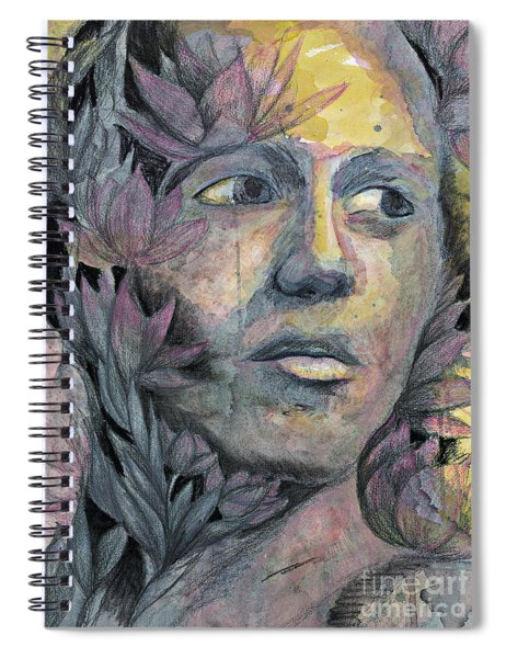 Lotus Man Spiral Notebook