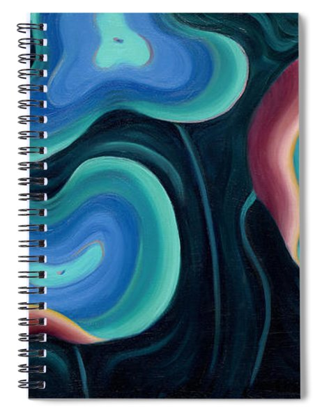 Lotus Reggae Spiral Notebook
