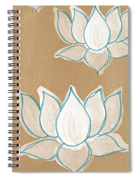 Lotus Serenity Spiral Notebook