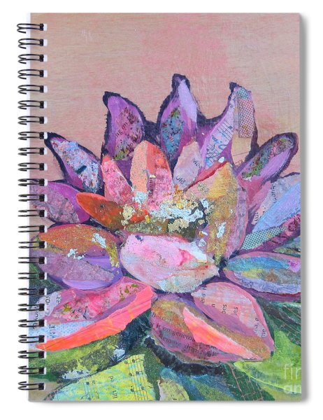 Lotus V Spiral Notebook