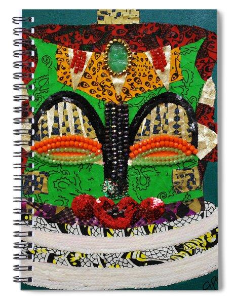 Lotus Warrior Spiral Notebook
