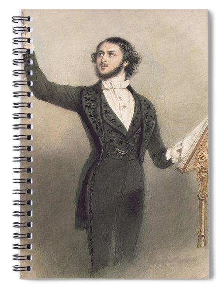 Louis Antoine Jullien Spiral Notebook