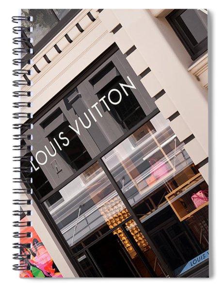 Louis Vuitton 02 Spiral Notebook