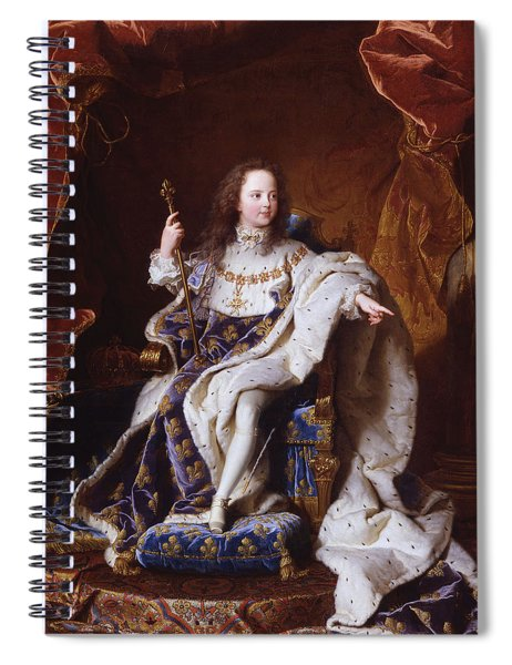 Louis Xv Of France Spiral Notebook