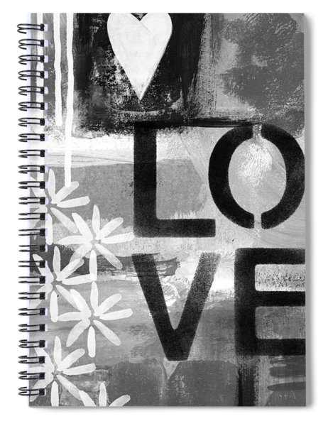 Love- Abstract Painting Spiral Notebook