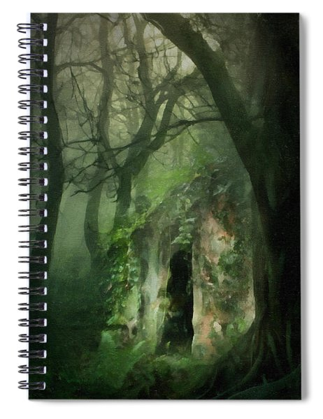 Love Affair With A Forest Spiral Notebook