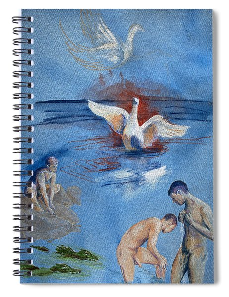 Love And Danger Spiral Notebook