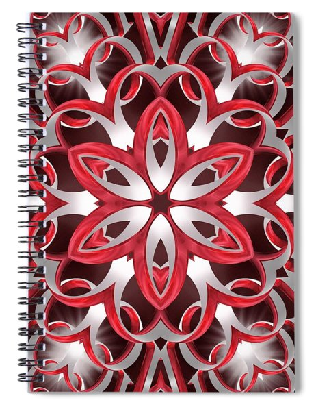 Love Blossoms Spiral Notebook