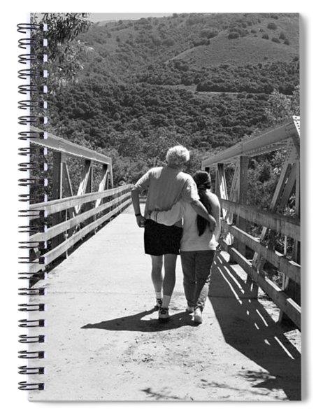 Love Bridge Spiral Notebook