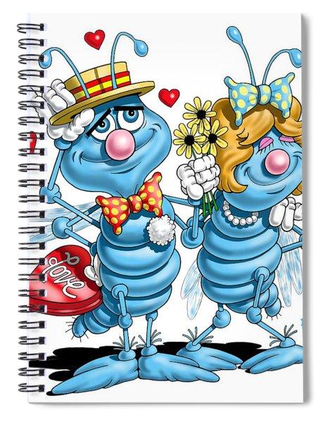 Love Bugs Spiral Notebook