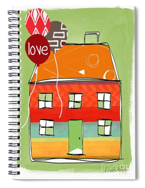 Love Card Spiral Notebook