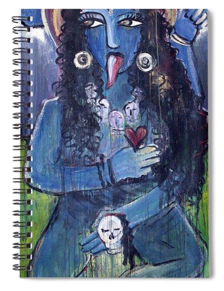 Love For Kali Spiral Notebook