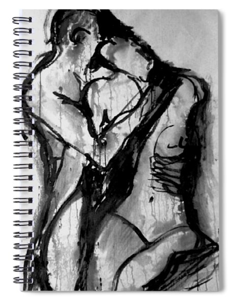 Love Me Tender Spiral Notebook