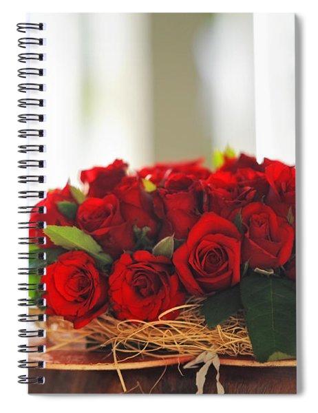 Love Message Spiral Notebook