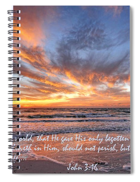 Love Personified Spiral Notebook