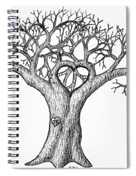 Love Tree Spiral Notebook