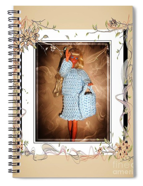 Love Visiting My Friends - Fashion Doll - Girls - Collection Spiral Notebook
