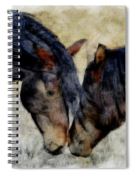 Love Will Keep Us Together - Painting Spiral Notebook