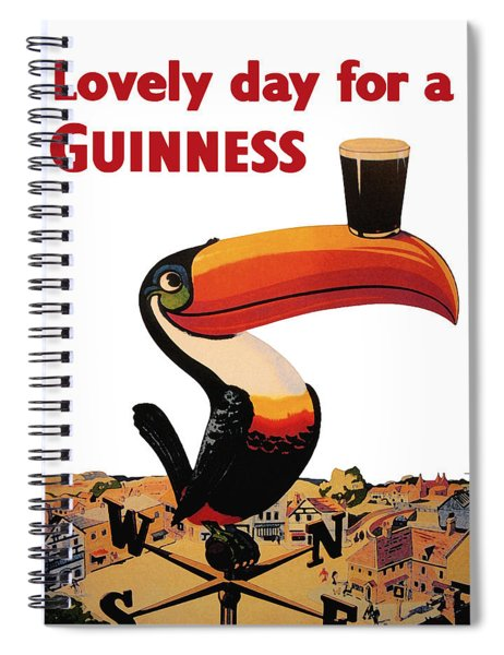 Lovely Day For A Guinness Spiral Notebook