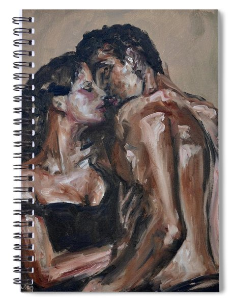 Lovers Spiral Notebook