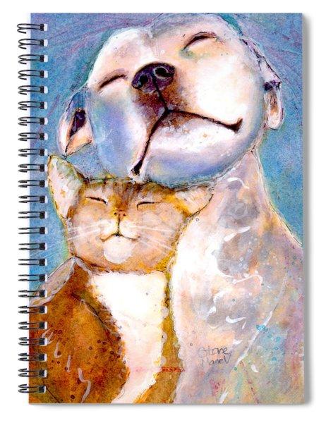 Lovey Dovey Spiral Notebook