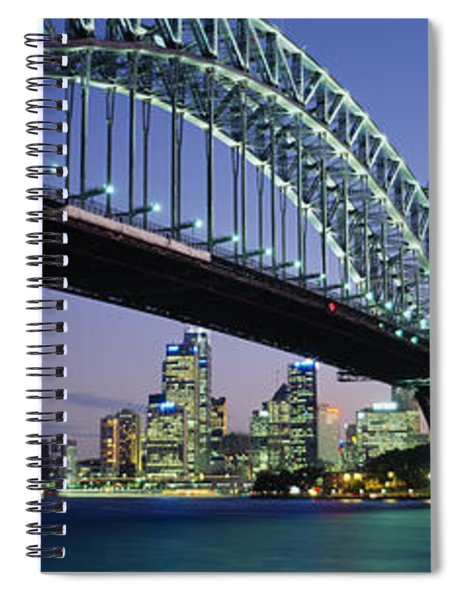 Low Angle View Of A Bridge, Sydney Spiral Notebook