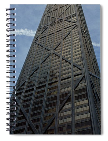 Low Angle View Of A Building, Hancock Spiral Notebook