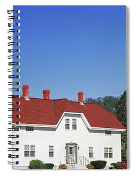 Low Angle View Of A Lighthouse, Chatham Spiral Notebook