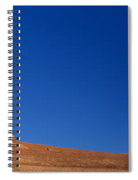 Low Angle View Of A Natural Arch Spiral Notebook