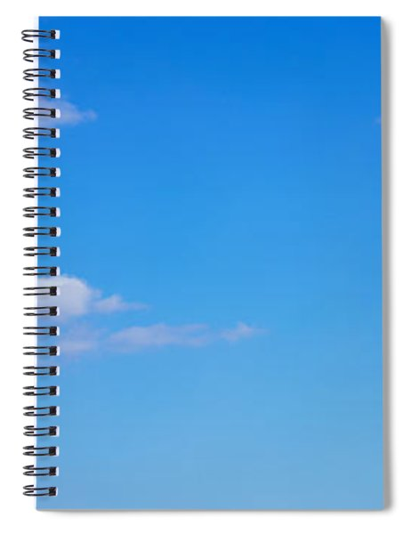 Low Angle View Of A Statue, Statue Spiral Notebook