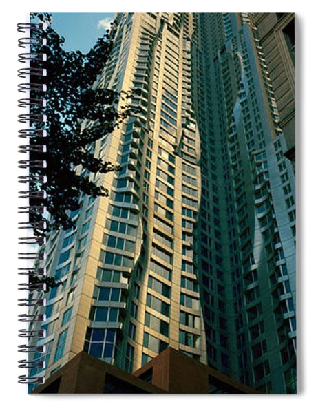 Low Angle View Of An Apartment, Wall Spiral Notebook