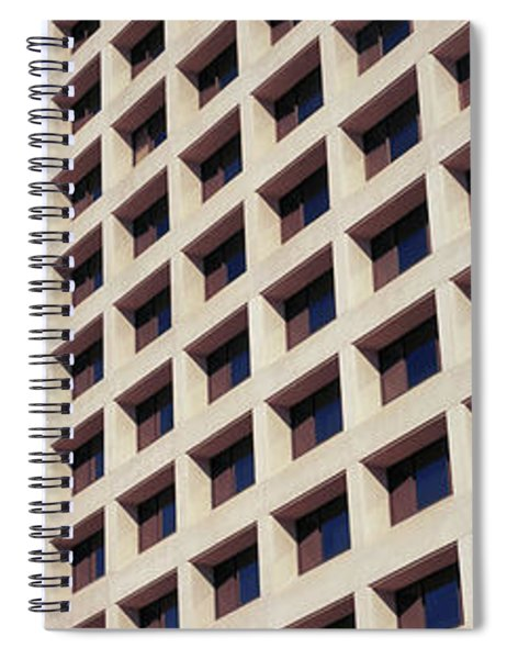 Low Angle View Of Buildings, Phoenix Spiral Notebook
