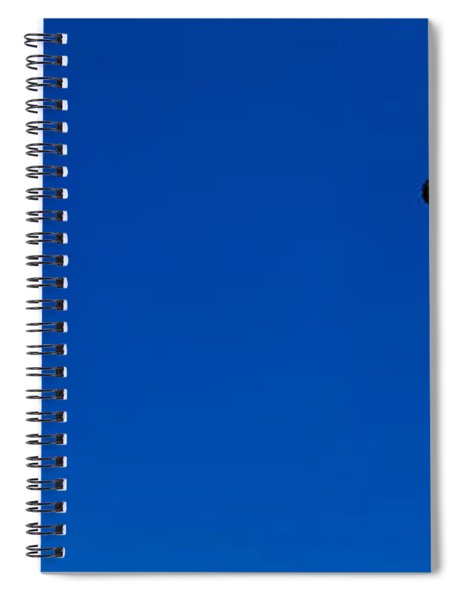 Low Angle View Of Statue Of Liberty Spiral Notebook