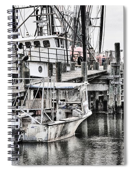 Low Country Small Craft Spiral Notebook