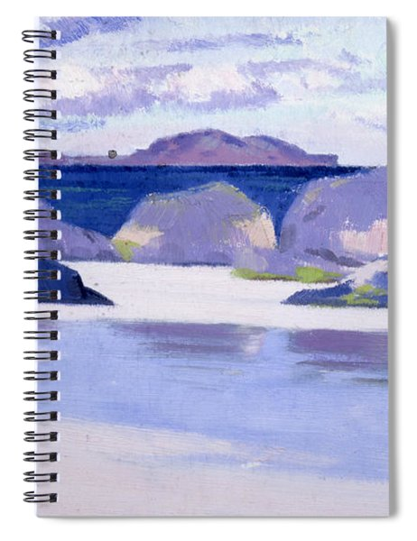 Low Tide  Iona Spiral Notebook