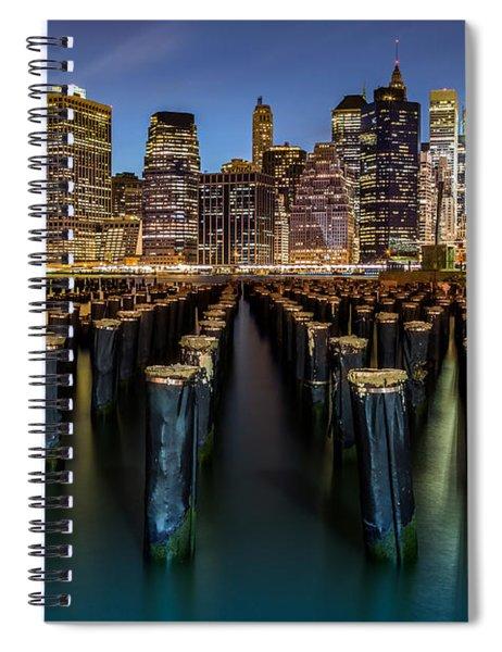 Lower Manhattan Spiral Notebook