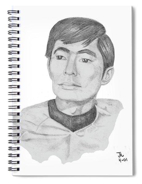 Lt. Sulu Spiral Notebook