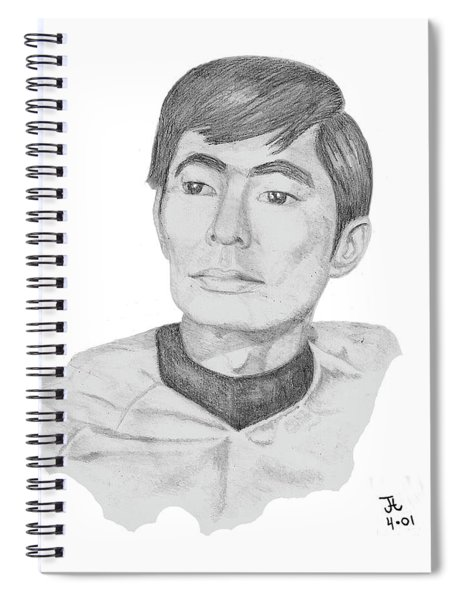 Lt. Sulu Spiral Notebook