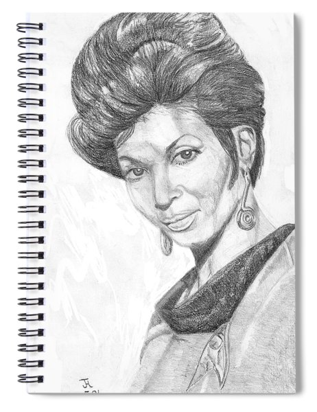 Lt. Uhura Spiral Notebook