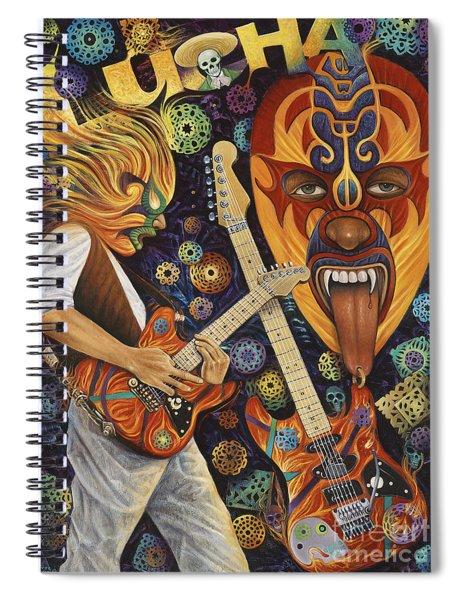 Lucha Rock Spiral Notebook