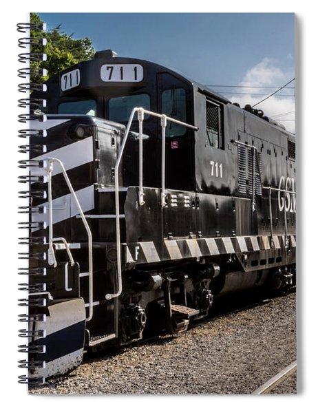 Lucky Engine 711 Spiral Notebook
