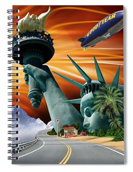 Lucky Star Spiral Notebook